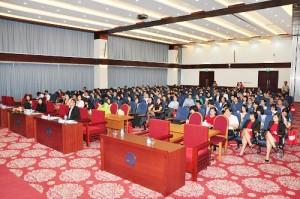 Hơn 200 đại diện cấp cao, cán bộ quản lý và chuyên viên từ các công ty thuộc HOSE và nhân sự có quan tâm đã đến tham dự chương trình